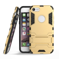 Apple iPhone 8 Tough Armor Protective Case (Gold)