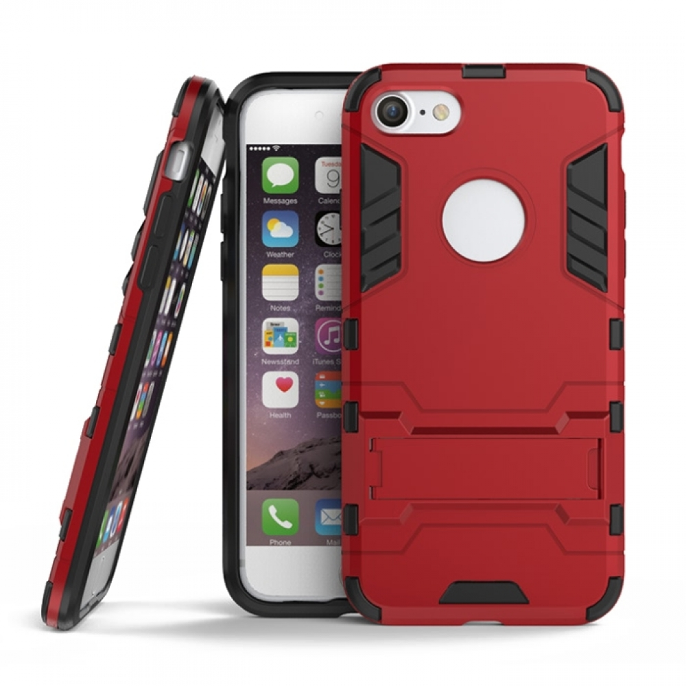 the best attitude 01854 f5b62 Apple iPhone 8 Tough Armor Protective Case (Red)