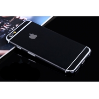 iPhone 6s 6 Plus Decal Wrap Skin Set (Black)