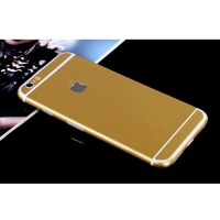 iPhone 6s 6 Plus Decal Wrap Skin Set (Gold)