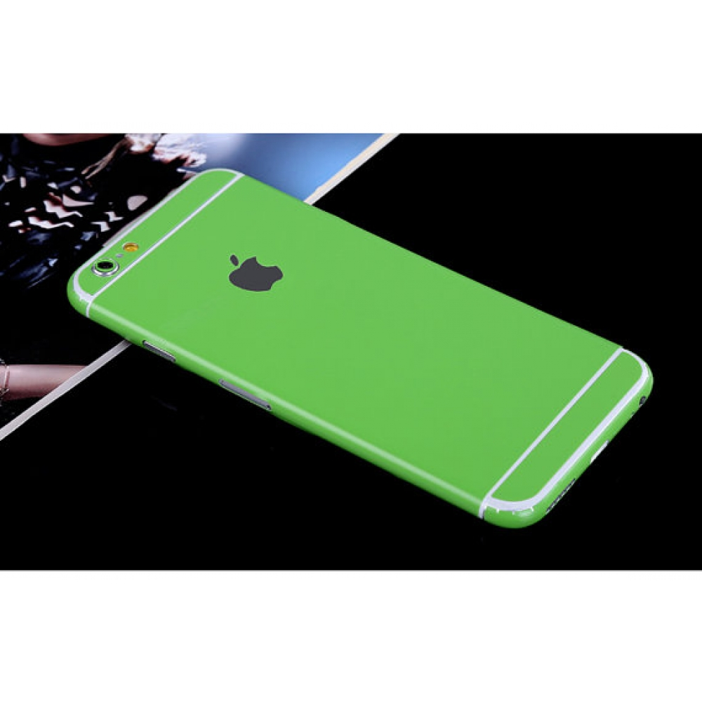 10% OFF + FREE SHIPPING, Buy PDair Top Quality iPhone Decal Wrap Skin Set (Green) which is available for iPhone 5 | iPhone 5s, iPhone 6 | iPhone 6s, iPhone 6 Plus | iPhone 6s Plus, iPhone SE. You also can go to the customizer to create your own stylish le