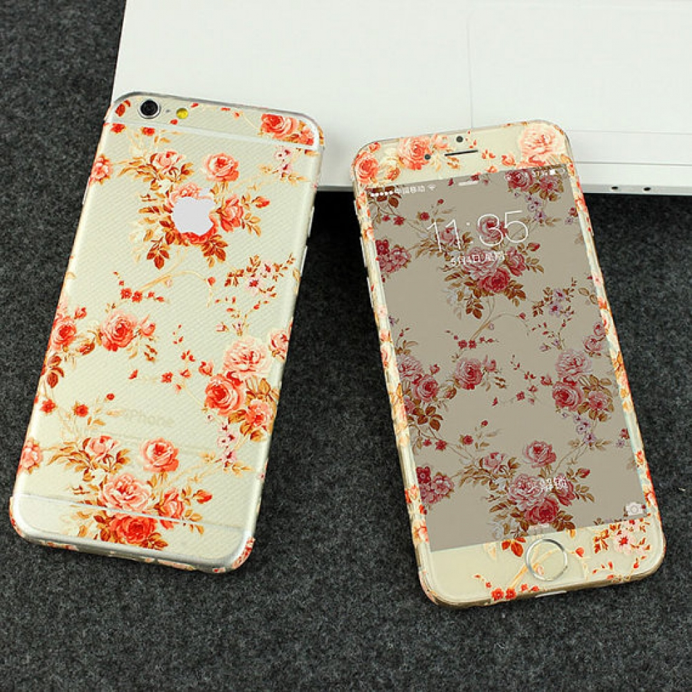10% OFF + FREE SHIPPING, Buy PDair iPhone Decal Wrap Skin Set (Peony Flowers Pattern) which is available for iPhone 6 | iPhone 6s, iPhone 6 Plus | iPhone 6s Plus, iPhone 5 | iPhone 5s SE. You also can go to the customizer to create your own stylish leathe