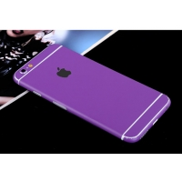 iPhone 6s 6 Plus Decal Wrap Skin Set (Purple)