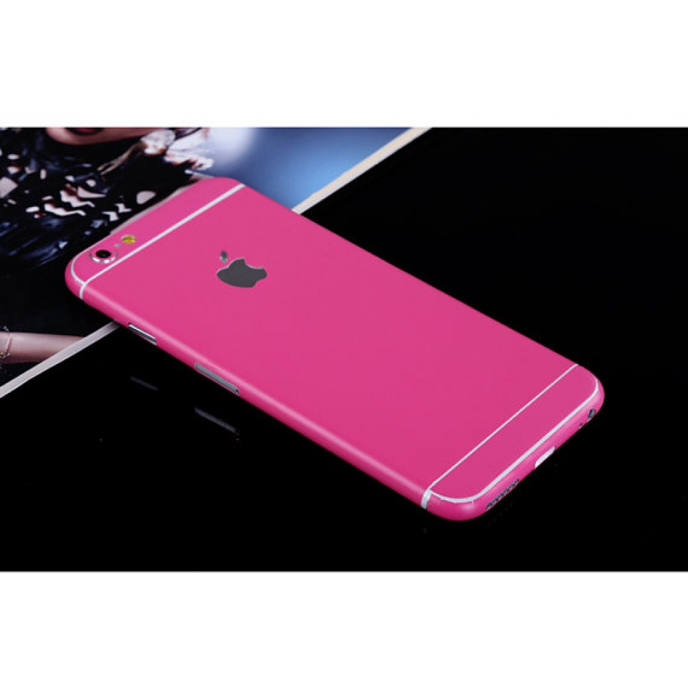 10% OFF + FREE SHIPPING, Buy PDair Top Quality iPhone Decal Wrap Skin Set Rose Pink which is available for iPhone 5 | iPhone 5s, iPhone 6 | iPhone 6s, iPhone 6 Plus | iPhone 6s Plus, iPhone SE You also can go to the customizer to create your own stylish l