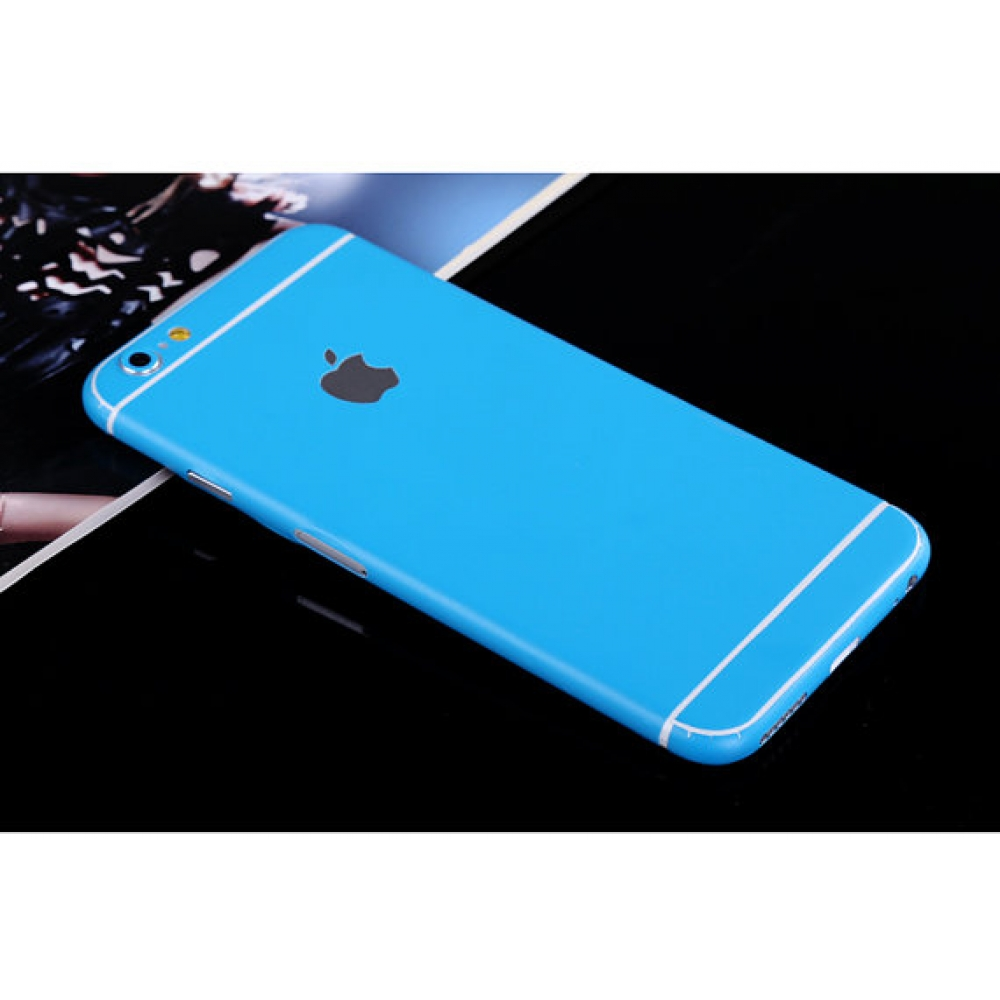 10% OFF + FREE SHIPPING, Buy PDair Top Quality iPhone Decal Wrap Skin Set Sky Blue which is available for iPhone 5 | iPhone 5s, iPhone 6 | iPhone 6s, iPhone 6 Plus | iPhone 6s Plus, iPhone SE You also can go to the customizer to create your own stylish le