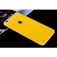 iPhone 6s 6 Plus Decal Wrap Skin Set (Yellow)
