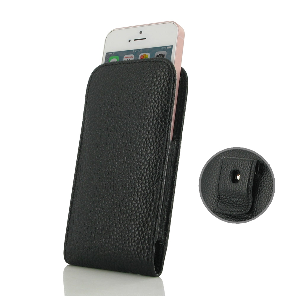 10% OFF + FREE SHIPPING, Buy Best PDair Quality Handmade Protective iPhone SE Pouch Case with Belt Clip (Black Stitching) online. You also can go to the customizer to create your own stylish leather case if looking for additional colors, patterns and type