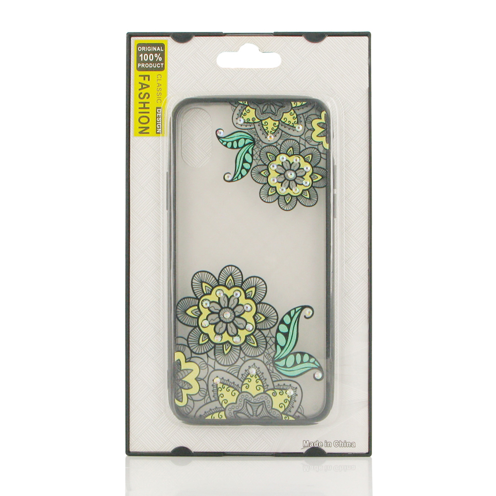 10% OFF + FREE SHIPPING, Buy the BEST PDair Premium Protective Carrying Beautiful Flower Pattern Diamond Sparkle Protective Case for iPhone X (Yellow Lotus). Exquisitely designed engineered for iPhone X.