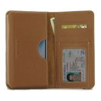 Leather Card Wallet for Apple iPhone X | iPhone 10 (Brown)