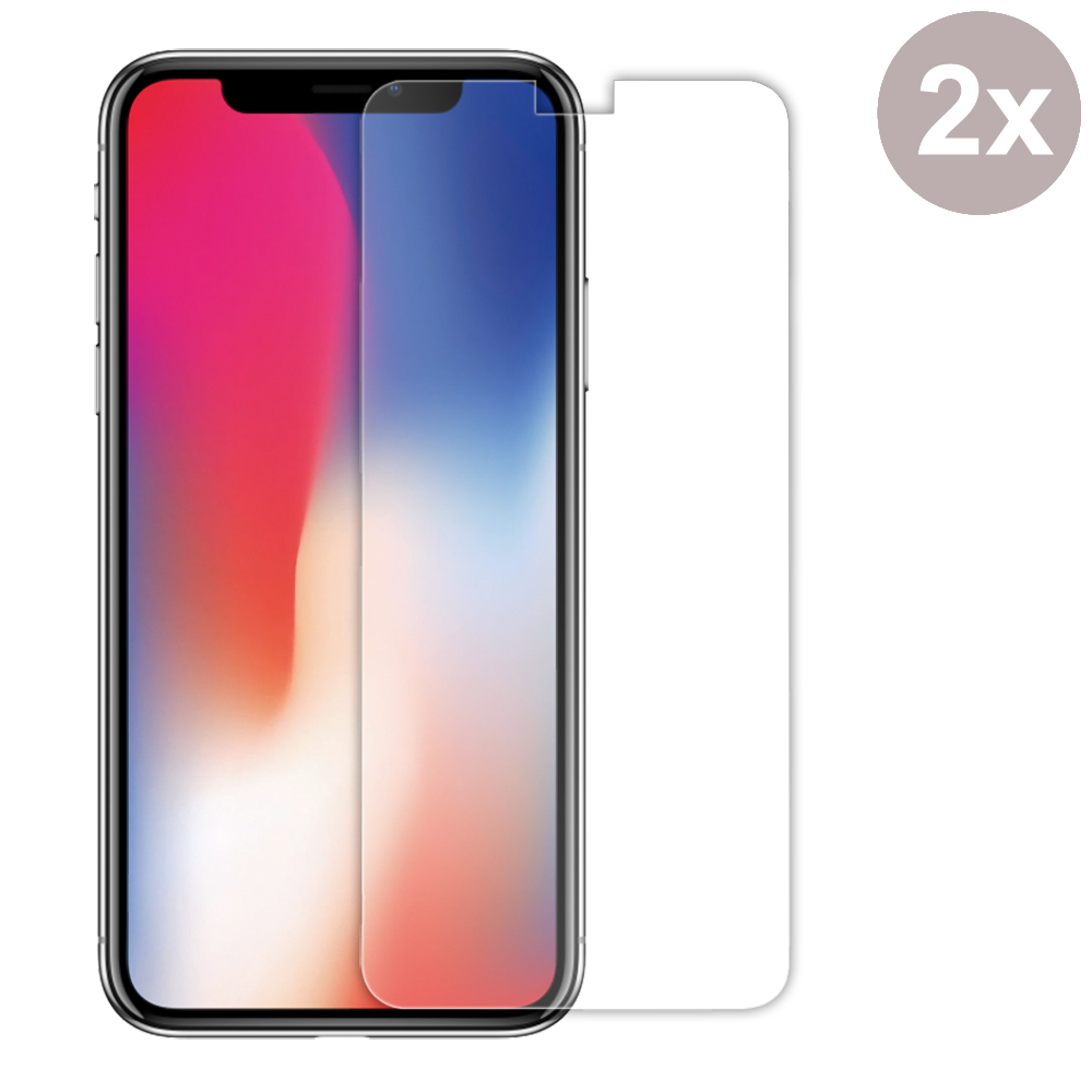 Premium Tempered Glass Film Screen Protector for Apple iPhone X | iPhone 10 (Pack of 2pcs)