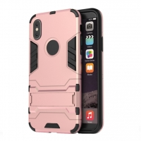 Apple iPhone X | iPhone 10 Tough Armor Protective Case (Pink)