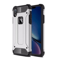 10% OFF + FREE SHIPPING, Buy the BEST PDair Premium Protective Carrying iPhone XR  Hybrid Dual Layer Tough Armor Protective Case (Silver). Exquisitely designed engineered for iPhone XR.