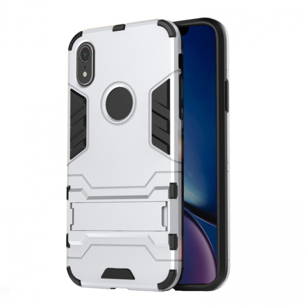 10% OFF + FREE SHIPPING, Buy the BEST PDair Premium Protective Carrying iPhone XR Tough Armor Protective Case (Silver). Exquisitely designed engineered for iPhone XR.