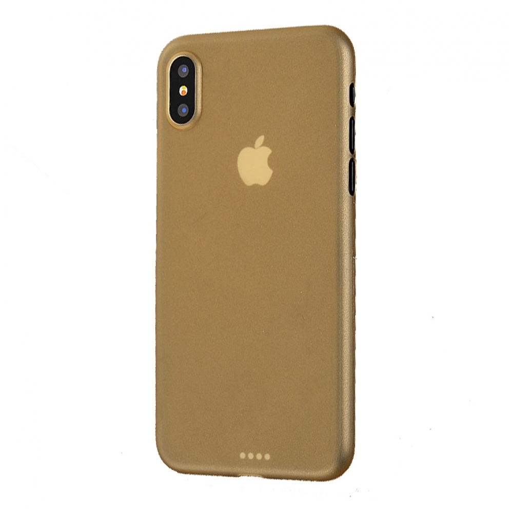 10% OFF + FREE SHIPPING, Buy the BEST PDair Premium Protective Carrying iPhone XS 0.3mm Ultra thin Plastic Back Case Cover Cover(Gold). Exquisitely designed engineered for iPhone XS.
