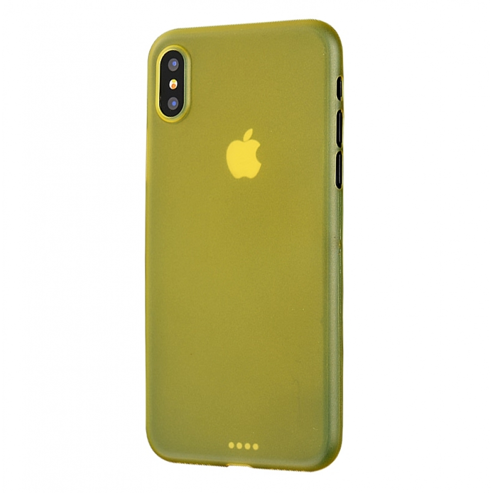 10% OFF + FREE SHIPPING, Buy the BEST PDair Premium Protective Carrying iPhone XS 0.3mm Ultra thin Plastic Back Case Cover(Yellow). Exquisitely designed engineered for iPhone XS.