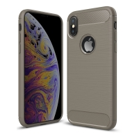 Carbon Fiber Case for Apple iPhone XS (Grey)