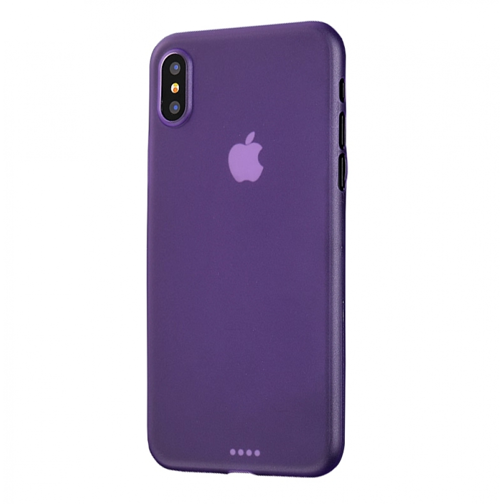 10% OFF + FREE SHIPPING, Buy the BEST PDair Premium Protective Carrying iPhone XS Max 0.3mm Ultra thin Plastic Back Case Cover(Purple). Exquisitely designed engineered for iPhone XS Max.