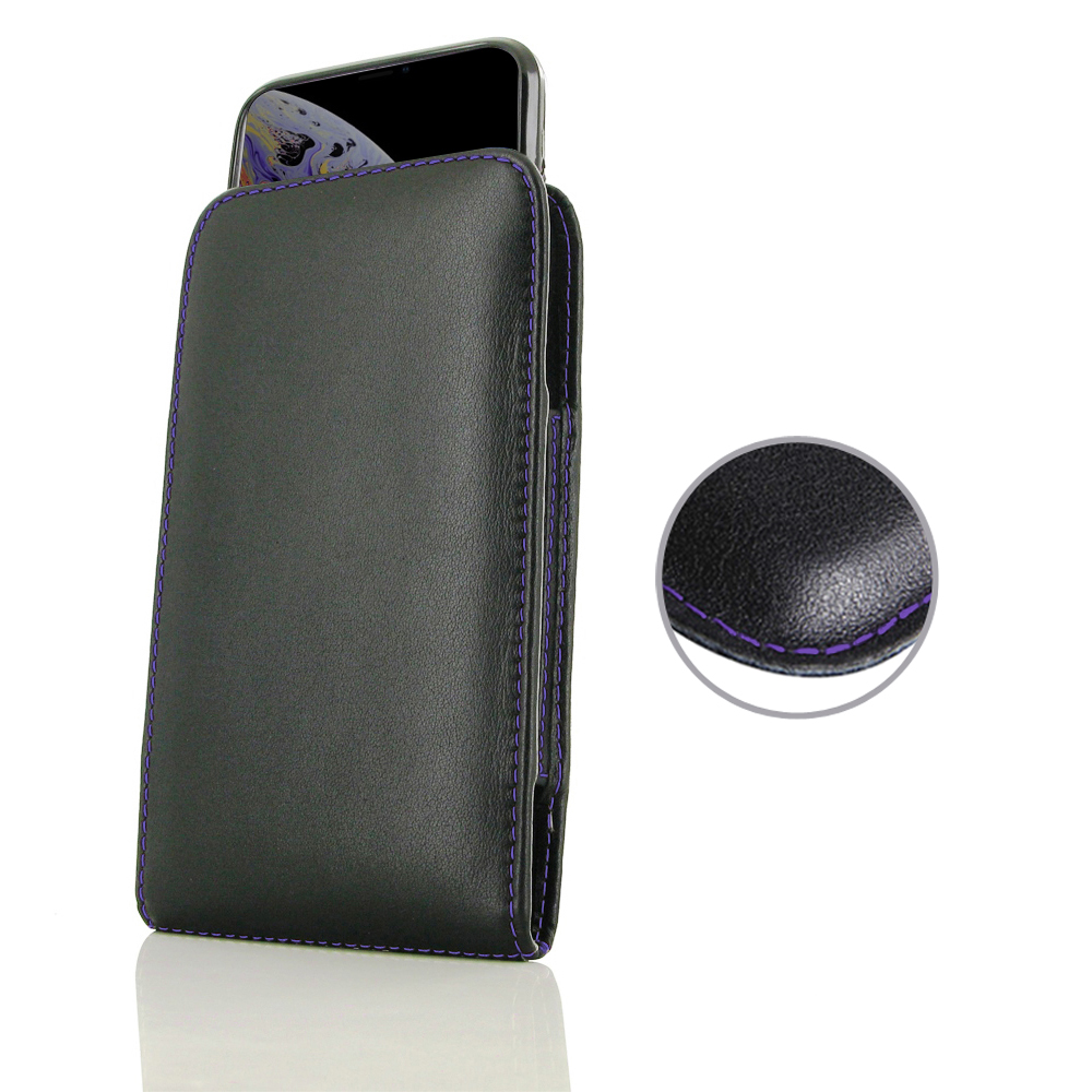 10% OFF + FREE SHIPPING, Buy the BEST PDair Handcrafted Premium Protective Carrying iPhone XS Max (in Slim Cover) Pouch Case (Purple Stitch). Exquisitely designed engineered for iPhone XS Max.