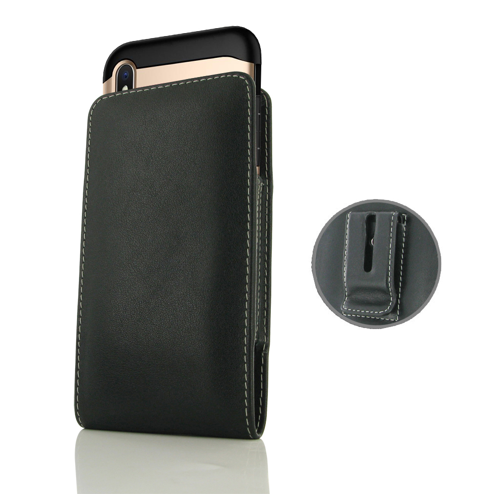 10% OFF + FREE SHIPPING, Buy the BEST PDair Handcrafted Premium Protective Carrying iPhone XS Max (in Large Size Cover) Pouch Clip Case. Exquisitely designed engineered for iPhone XS Max.