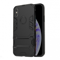 Apple iPhone XS Max Tough Armor Protective Case (Black)