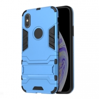 Apple iPhone XS Max Tough Armor Protective Case (Blue)