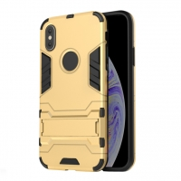 Apple iPhone XS Max Tough Armor Protective Case (Gold)
