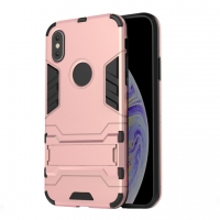 Apple iPhone XS Max Tough Armor Protective Case (Pink)