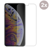 Premium Tempered Glass Film Screen Protector for Apple iPhone XS (Pack of 2pcs)
