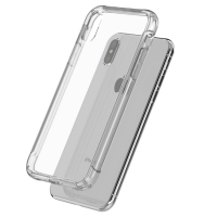 Soft Clear Case Back Cover for Apple iPhone XS (Transparent)