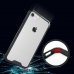 Apple iPhone X Shockproof Anti-scratch Clear Hard Plastic (Black) protective stylish skin case by PDair