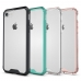 Apple iPhone X Shockproof Anti-scratch Clear Hard Plastic (Pink) protective carrying cover by PDair