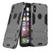 iPhone X Tough Armor Protective Case (Grey) custom degsined carrying case by PDair