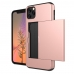 iPhone 11 Armor Protective Case with Card Slot (Petal Pink) offers worldwide free shipping by PDair