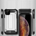 Apple iPhone 11 Hybrid Dual Layer Tough Armor Protective Case (Black) best cellphone case by PDair