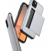 iPhone 11 Pro Max Armor Protective Case with Card Slot (Silver) custom degsined carrying case by PDair