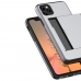 iPhone 11 Pro Max Armor Protective Case with Card Slot (Silver) offers worldwide free shipping by PDair
