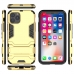 iPhone 11 Pro Max Tough Armor Protective Case (Silver) protective stylish skin case by PDair
