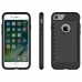 iPhone 7 Hybrid Combo Aegis Armor Case Cover (Black) handmade leather case by PDair