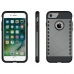 iPhone 7 Hybrid Combo Aegis Armor Case Cover (Grey) handmade leather case by PDair