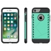 iPhone 7 Hybrid Combo Aegis Armor Case Cover (Green) handmade leather case by PDair