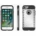 iPhone 7 Hybrid Combo Aegis Armor Case Cover (Silver) handmade leather case by PDair