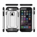 iPhone 7 Hybrid Dual Layer Tough Armor Case (White) genuine leather case by PDair