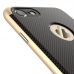 iPhone 7 Gingham Pattern Plastic Case (Rose Gold) handmade leather case by PDair