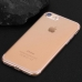 iPhone 7 Ultra Thin Soft Clear Case Back Cover genuine leather sleeve pouch case by Pdair