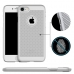 iPhone 8 Ultra Slim Premium Matte Finish Mesh Hard Case (Silver) offers worldwide free shipping by PDair
