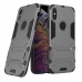 iPhone XS Max Tough Armor Protective Case (Grey) custom degsined carrying case by PDair