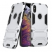 iPhone XS Max Tough Armor Protective Case (Silver) custom degsined carrying case by PDair