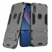 iPhone XR Tough Armor Protective Case (Grey) custom degsined carrying case by PDair