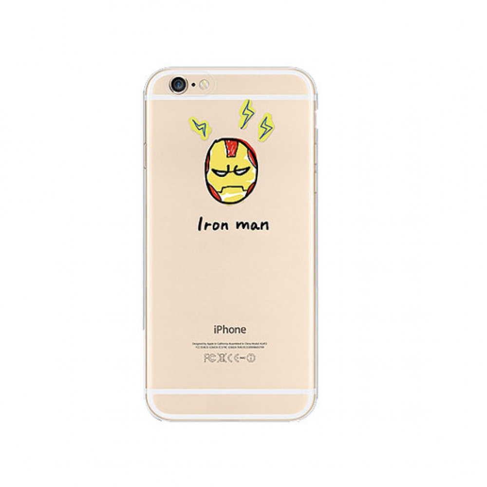 10% OFF + FREE SHIPPING, Buy PDair iPhone Pattern Printed Soft Clear Case (Ironman Angry) which is available for iPhone 6 | iPhone 6s, iPhone 6 Plus | iPhone 6s Plus, iPhone 5 | iPhone 5s SE. You also can go to the customizer to create your own stylish le