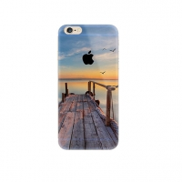 Lake Wood Brige Scenery iPhone 6s 6 Plus SE 5s 5 Pattern Printed Soft Case
